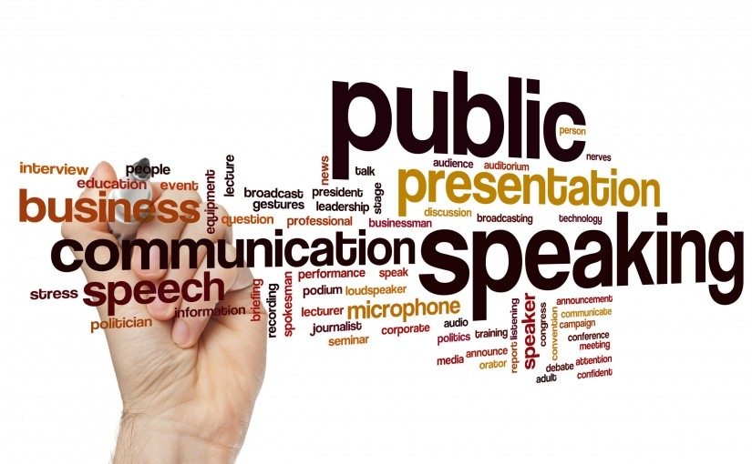 public speaking logo