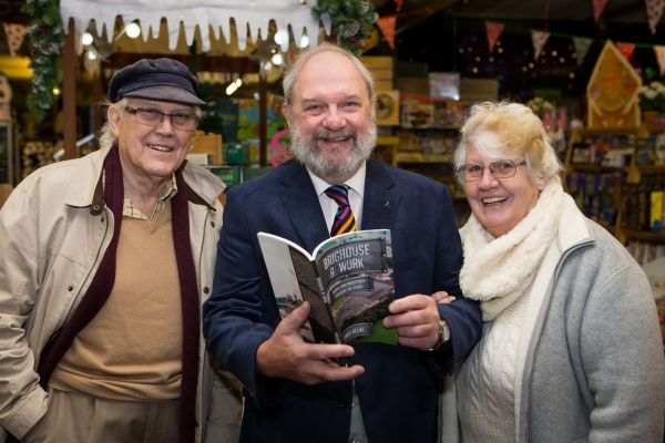'...Brighouse at Work...' book signing at Kershaw's Garden Centre - 3 December 2017