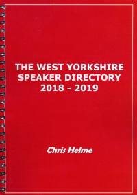West Yorkshire Speaker Directory 2018 - 2019 - SALE - SALE - SALE...