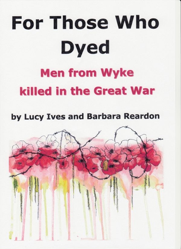 A fascinating new book from Wyke:  'For Those Who Dyed...'