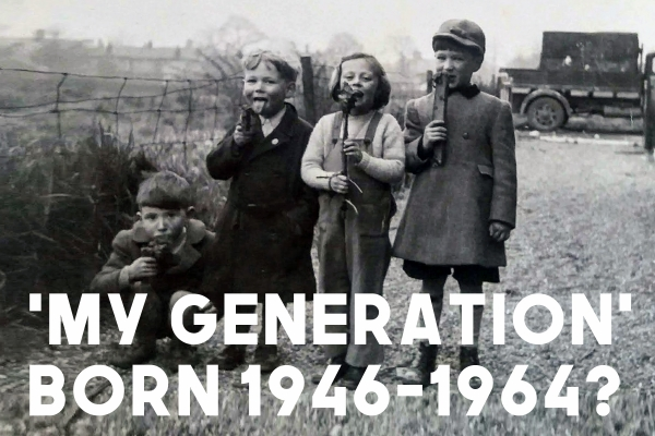 'My Generation' - Born 1946-1964 -  Are you a Brighouse based baby boomer?
