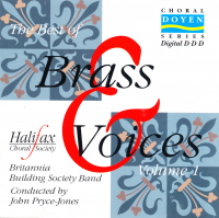 The Best of Brass and Voices - Britannia Building Society Band & Halifax Choral Society - 1995 - £4 + £1.50 p/p